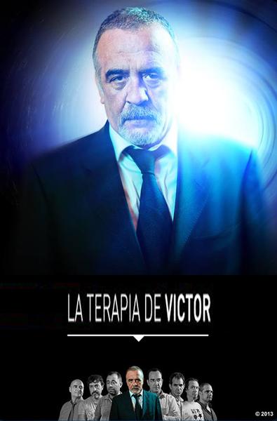cartel La teriapia de Victor